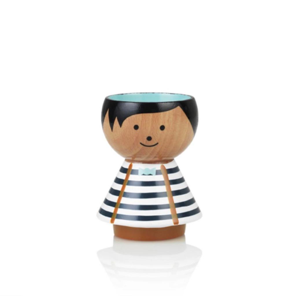 Lucie  Kaas Bordfolk boy blue stripes