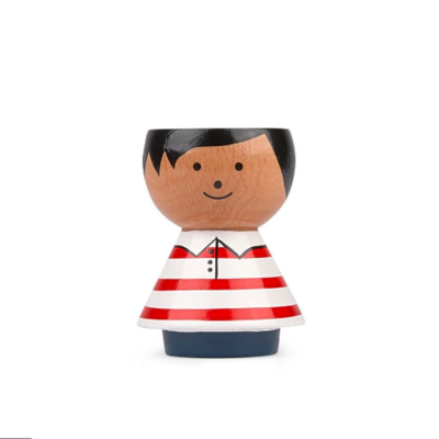 Lucie  Kaas Bordfolk boy red stripes