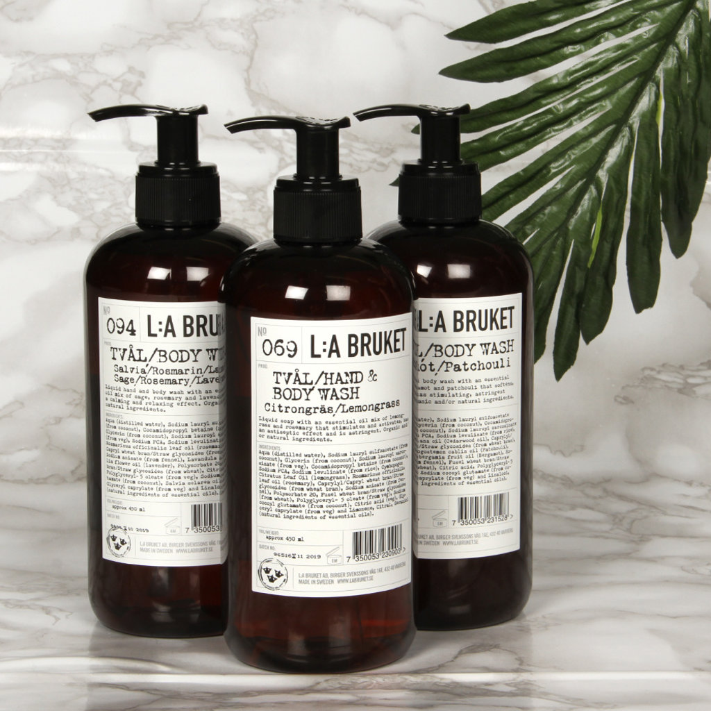 L:A Bruket Hand & Body Wash SRL 450ml