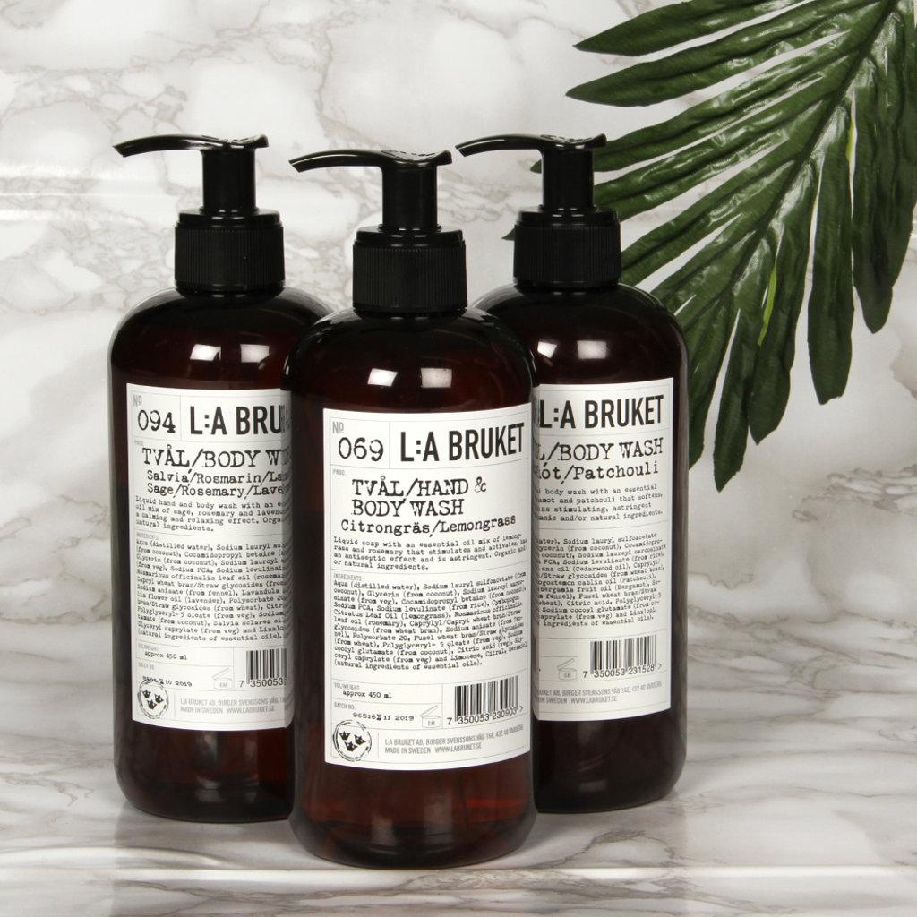 L:A Bruket Hand & Body Wash LG 240ml