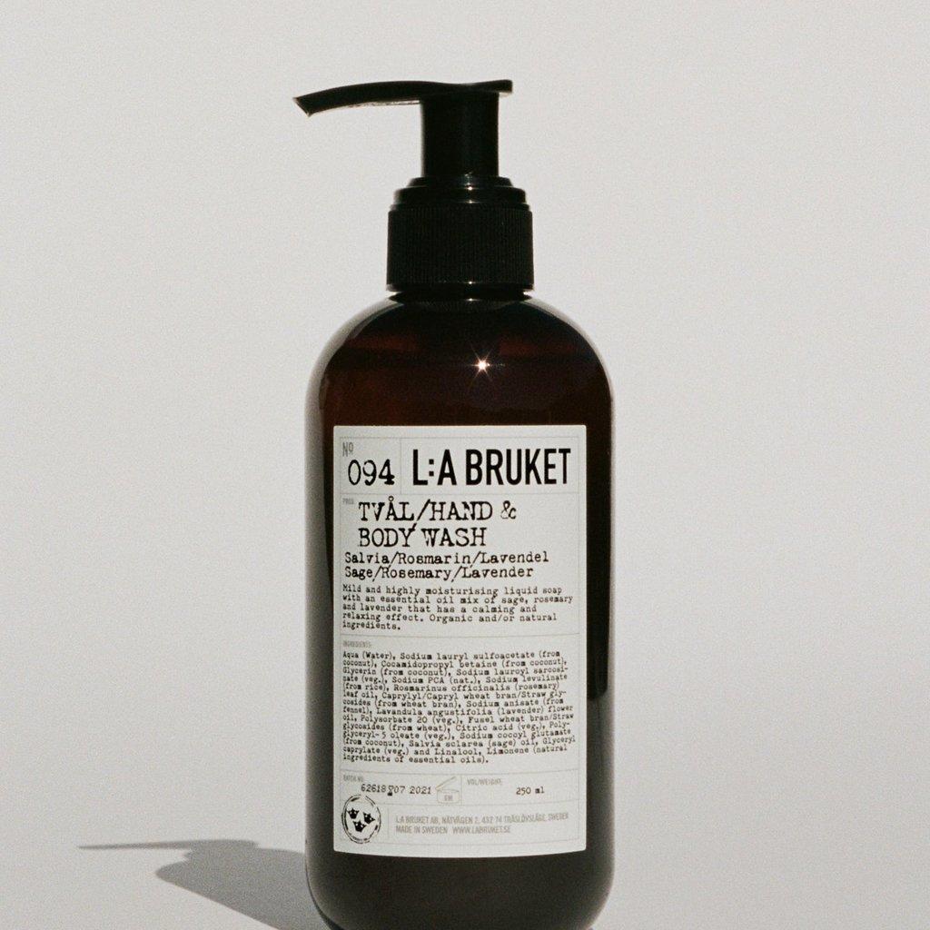 L:A Bruket Hand & Body Wash SRL 240ml