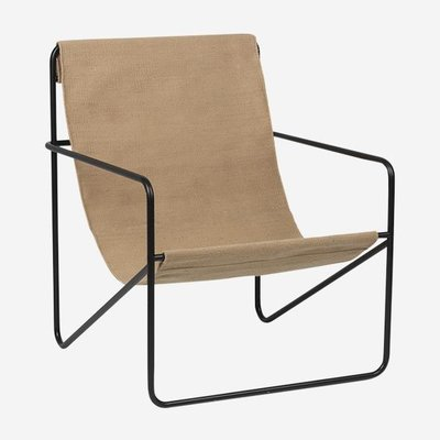 Ferm Living Desert Chair - Black/Solid