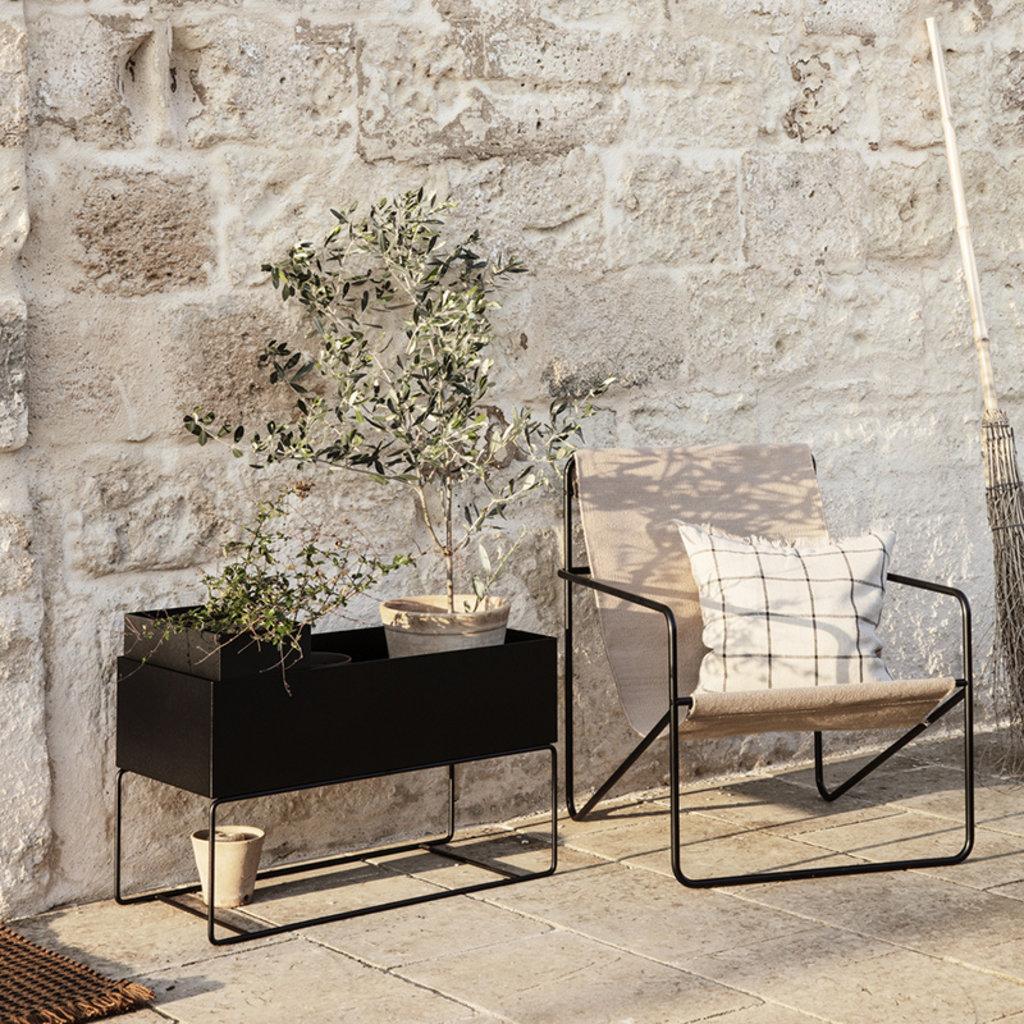 Ferm Living Desert Lounge Chair - Black/Solid
