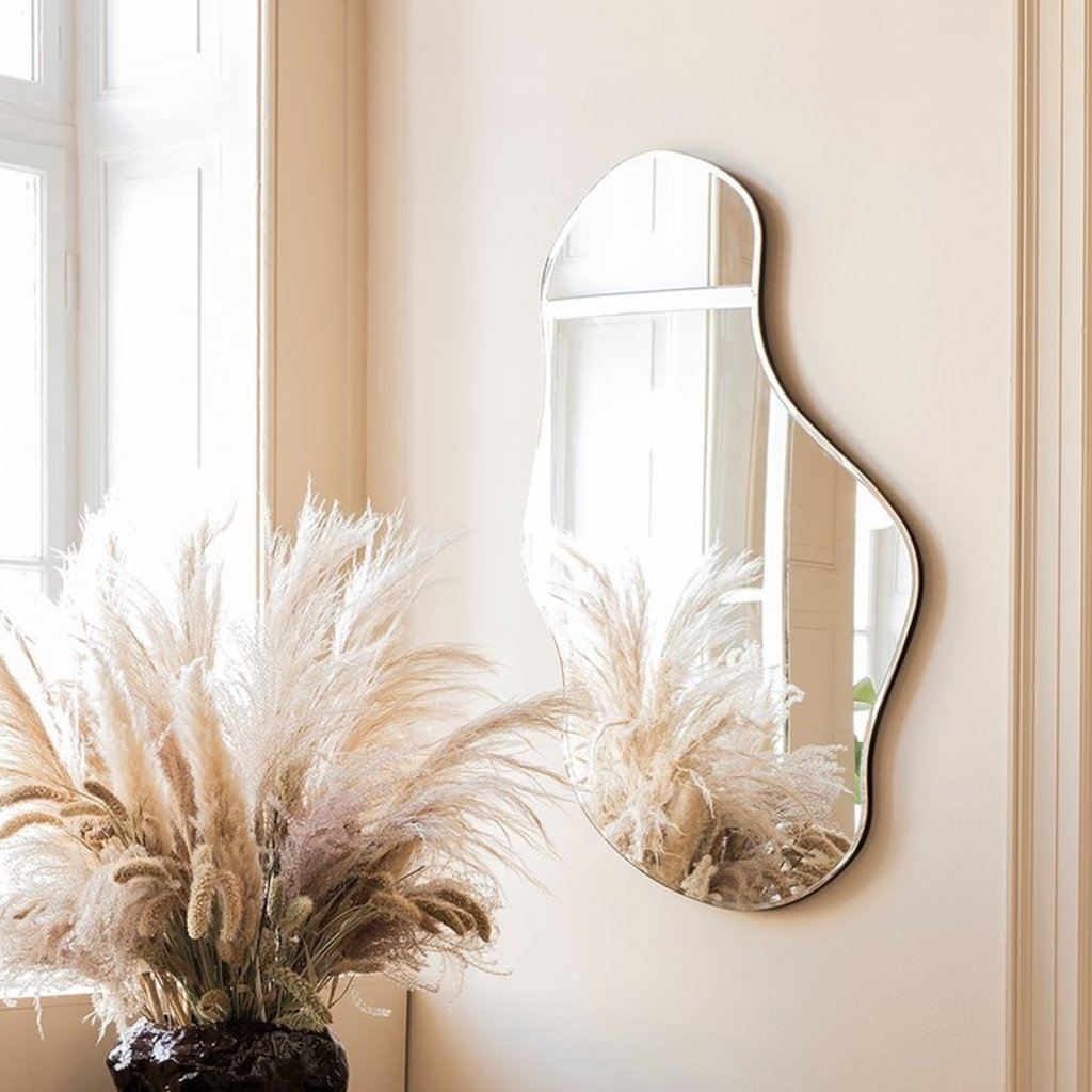 Ferm Living Pond Mirror - Large - Brass