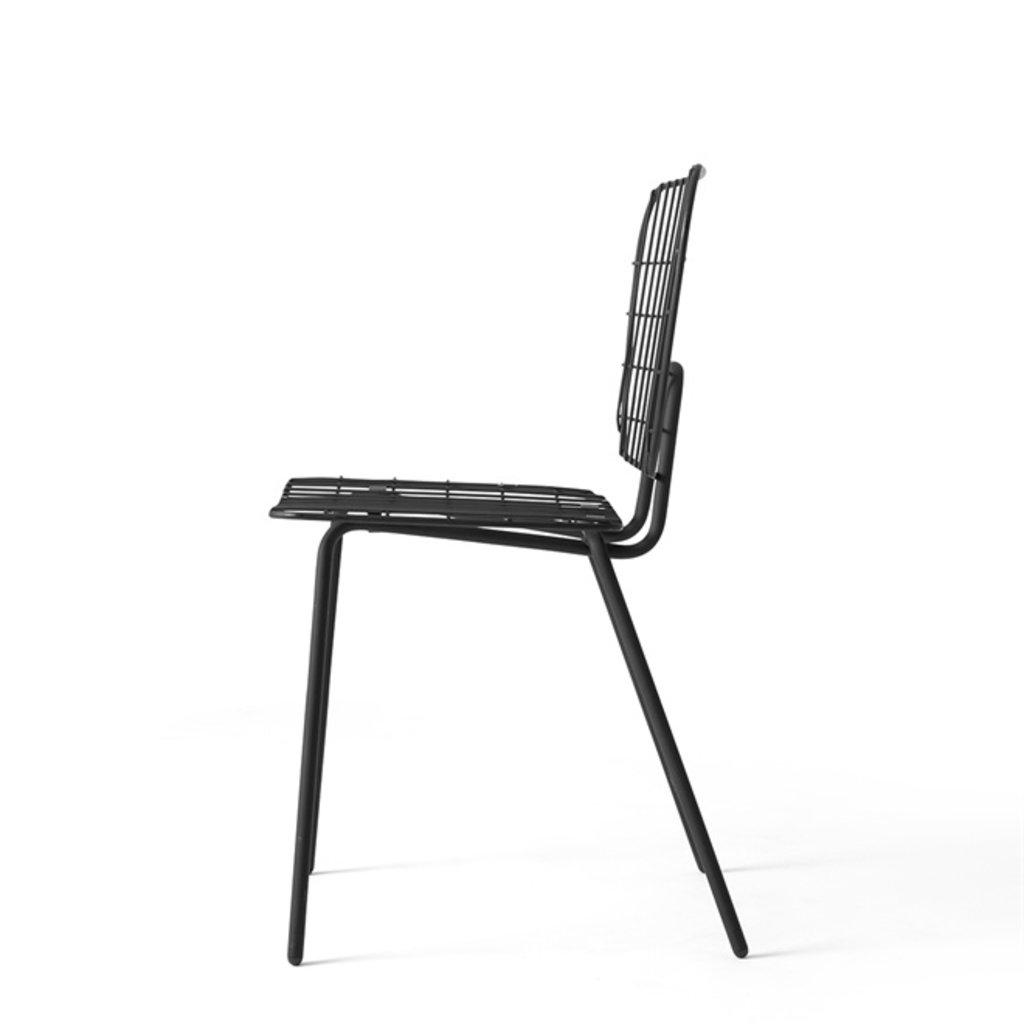 MENU WM String Dining Chair, Black
