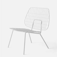 MENU WM String Lounge Chair, White