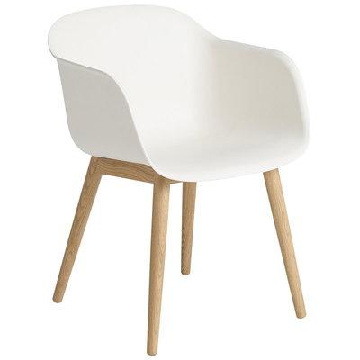Muuto Fiber Armchair Wood/White Oak