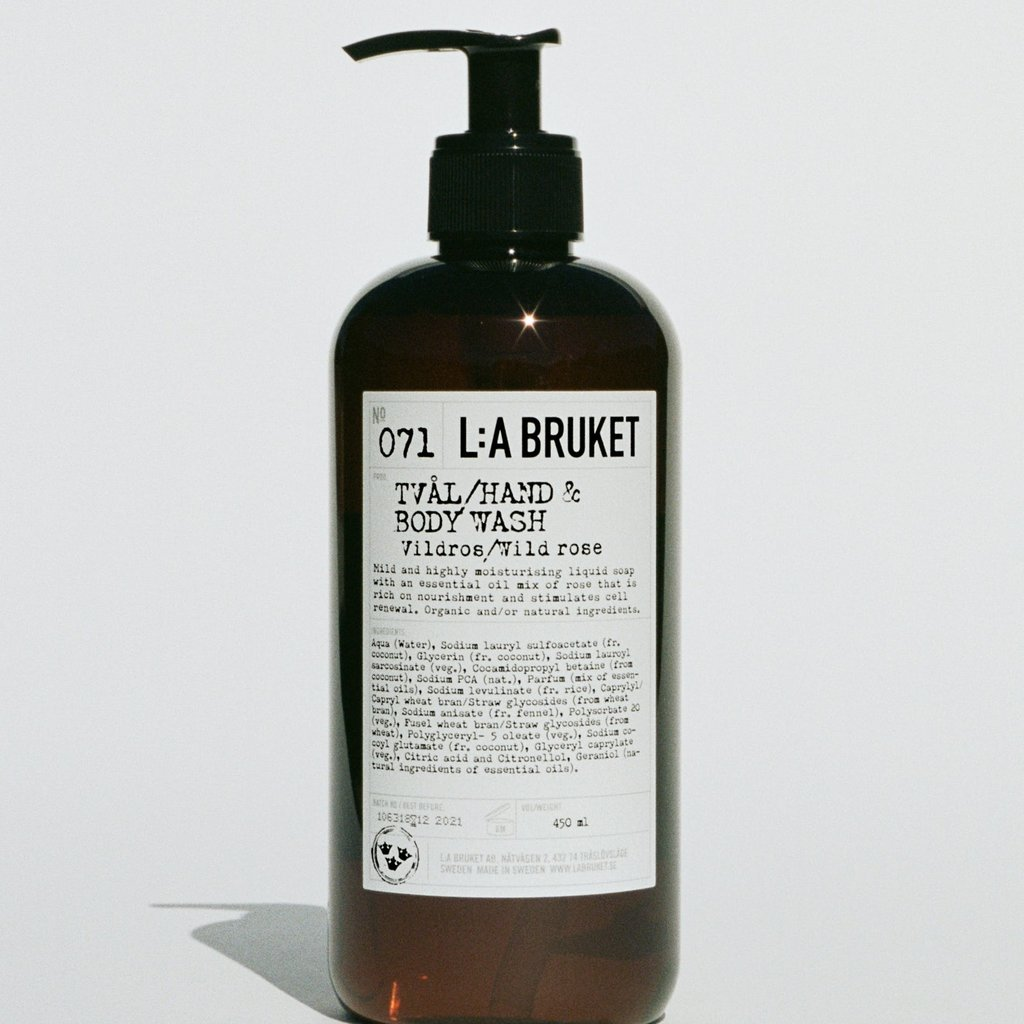 L:A Bruket Hand & Body Wash WR 450ml
