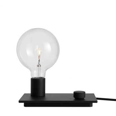 Muuto Control Lamp - Black - LED