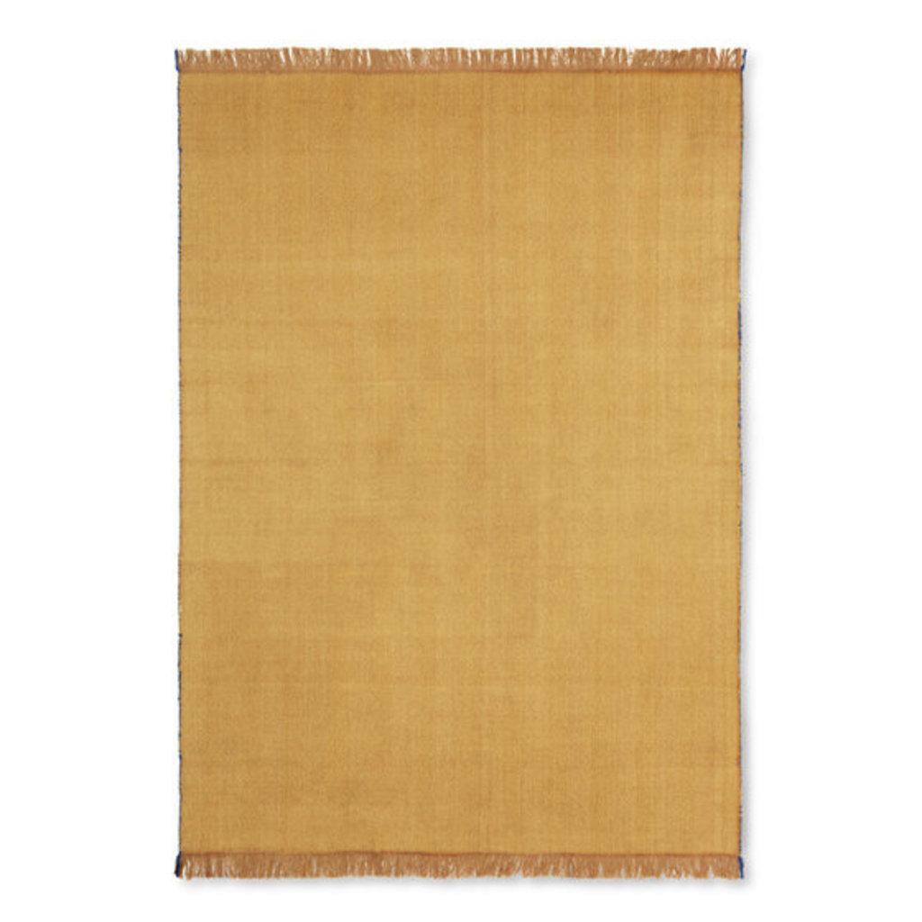 Ferm Living Herringbone Blanket - Mustard
