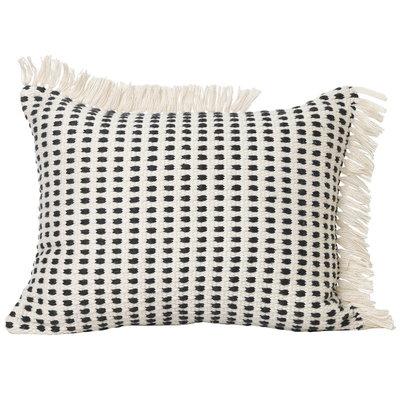 Ferm Living Way Cushion 70x50 - Off-White/Blue