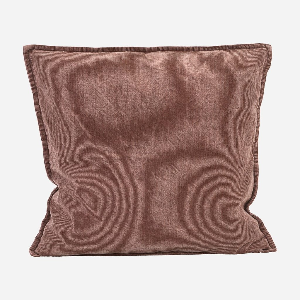 House Doctor Pillowcase - Cur, red/brown