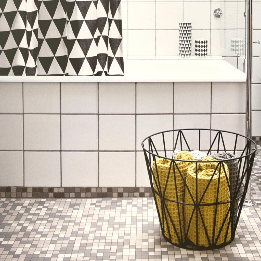 Ferm Living Wire Basket - Black - Large