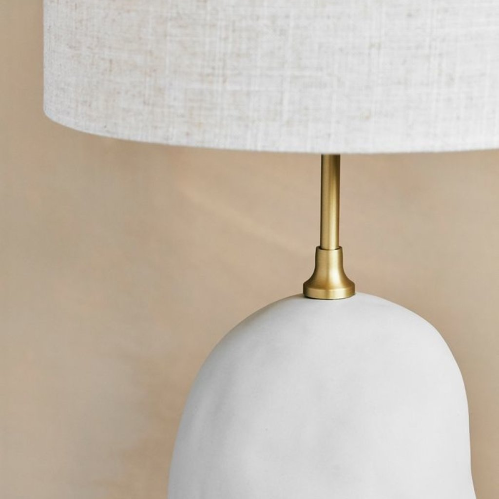 Ferm Living Hebe Floor Lamp - Off-White Natural