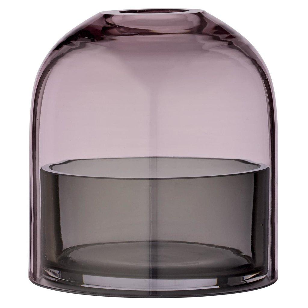 AYTM TOTA lantern for tealight S Rose Black