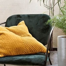 House Doctor Pillowcase - Velvet, Curry