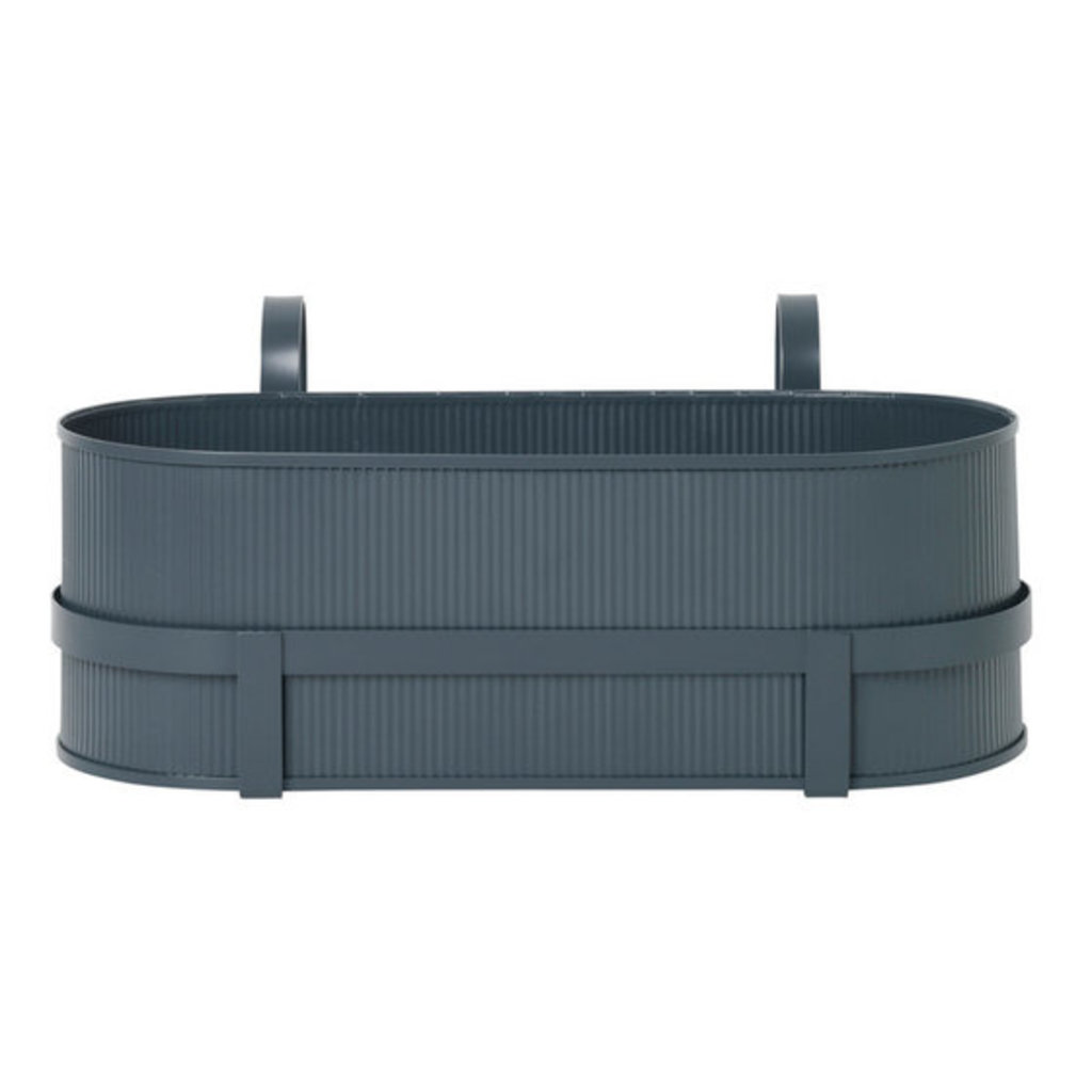 Ferm Living Bau Balcony Box - Dark Blue