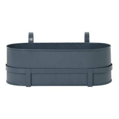Ferm Living Bau Balcony Box - Dark Blue