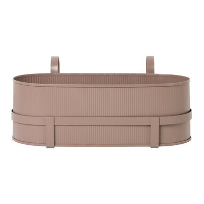 Ferm Living Bau Balcony Box - Dusty Rose