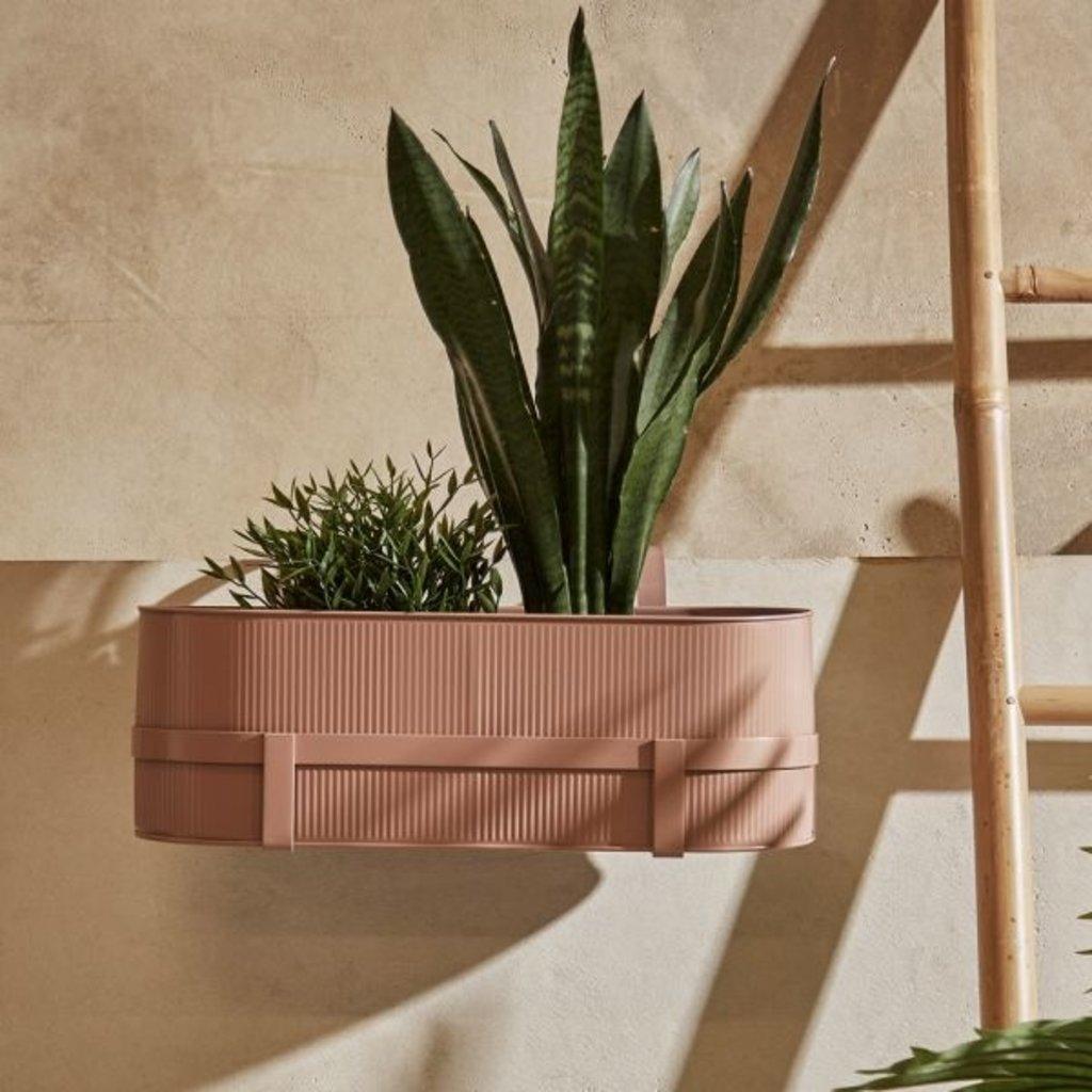 Ferm Living Bau Balcony Box - Dusty Rose