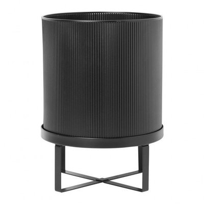 Ferm Living Bau Pot - Large - Black