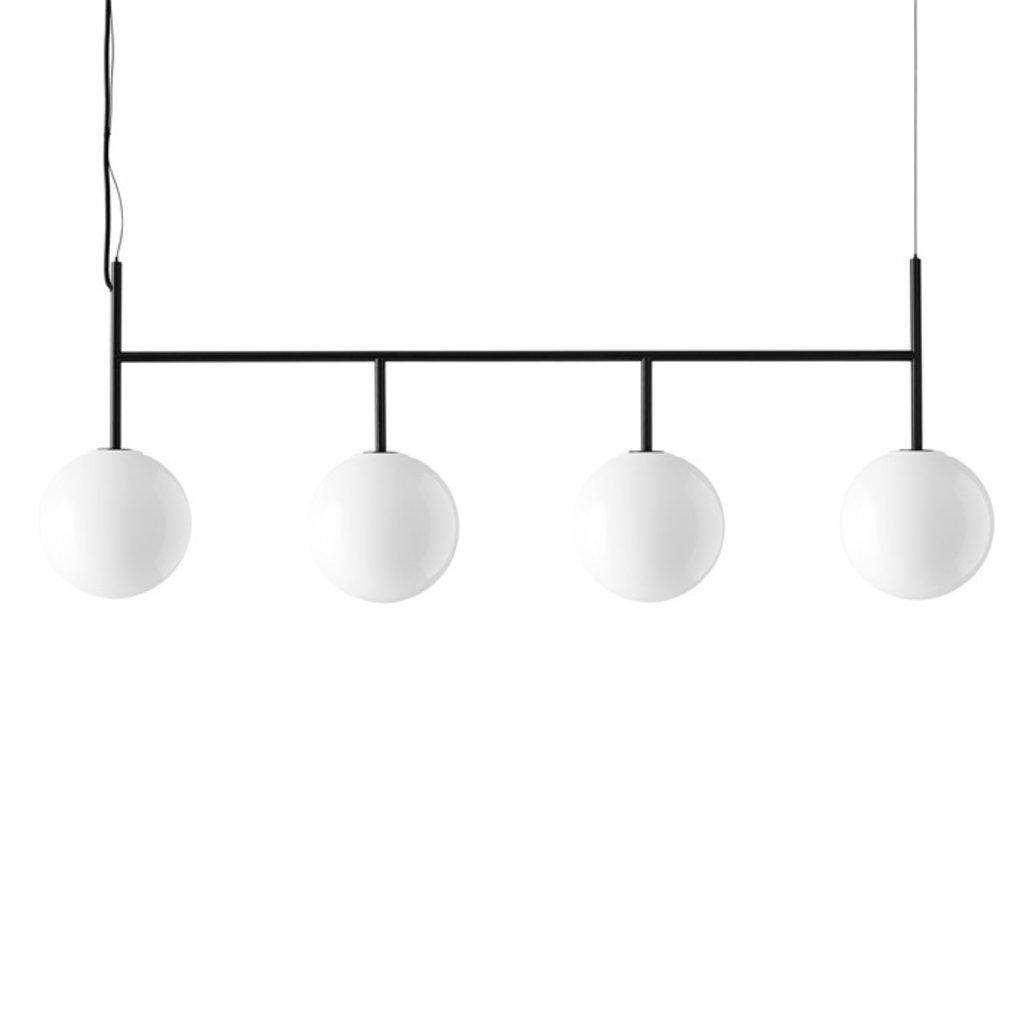 MENU TR Bulb, Suspension Frame, Black w. DtW, Matt Opal Bulb