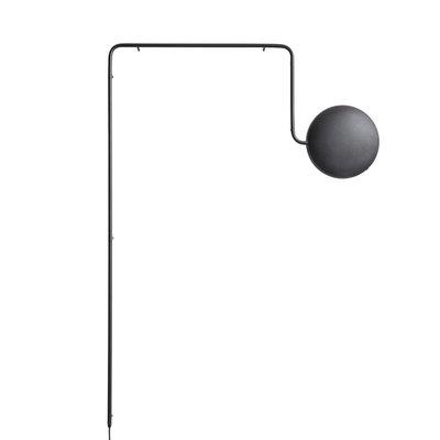 WOUD Mercury wall lamp Black
