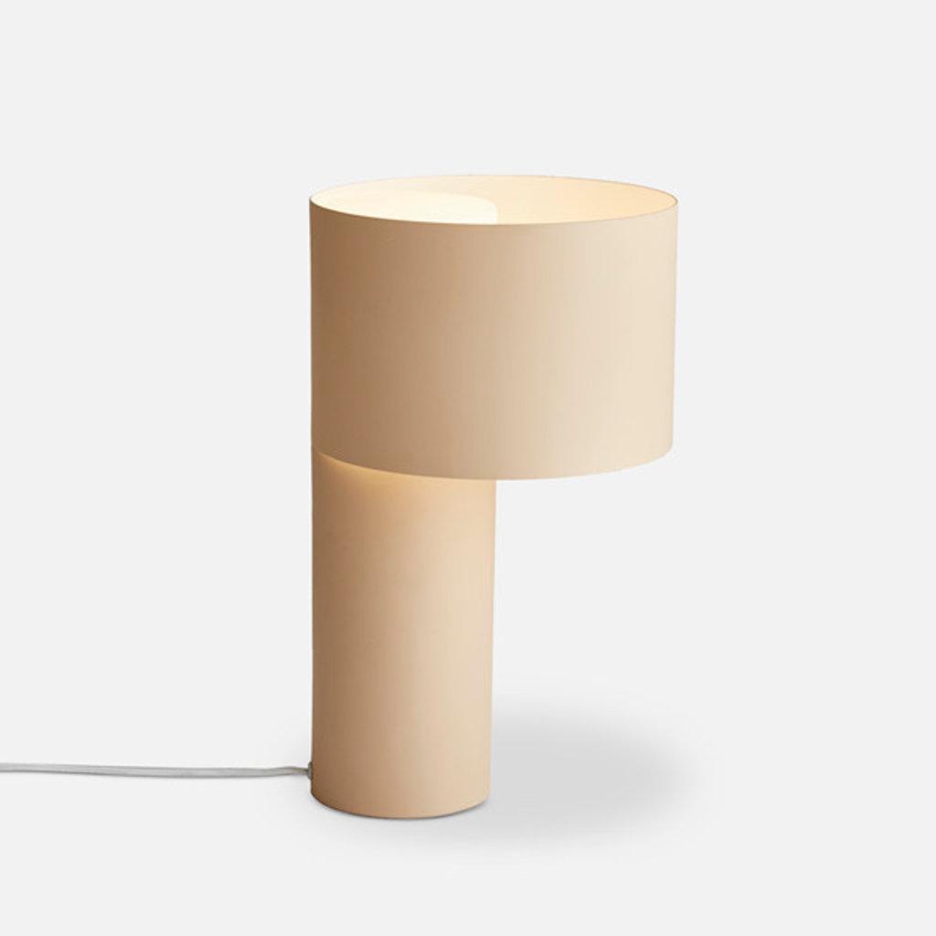 WOUD Tangent table lamp Desert Sand