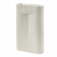 Muuto Ridge Vase - H48,5 - Off-White