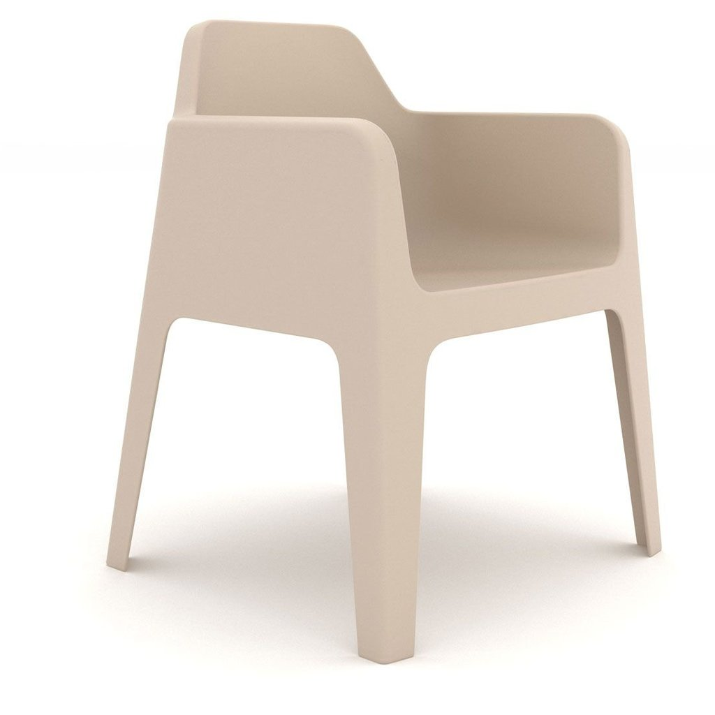 Pedrali Armchair PLUS, sand - SHOWROOM MODEL