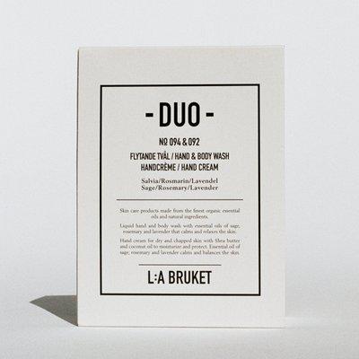 L:A Bruket Duo Kit 4 H&B Wash / Hand Cream SRL 2x200ml