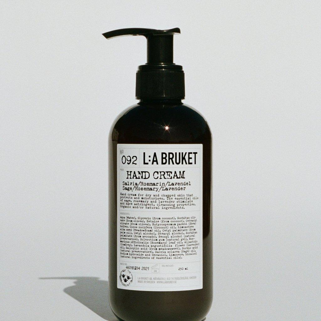 L:A Bruket Hand Cream SRL 240ml