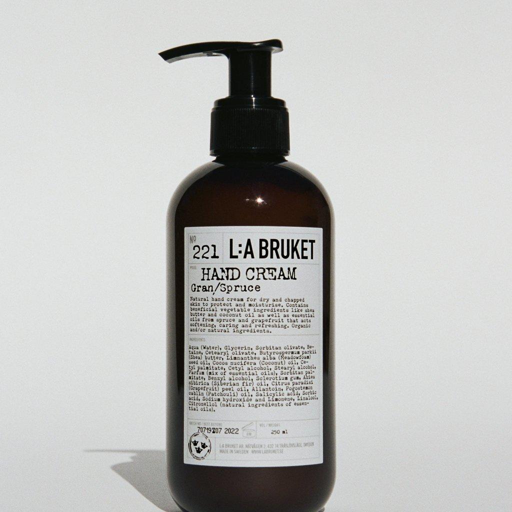 L:A Bruket Hand Cream Spruce 240ml