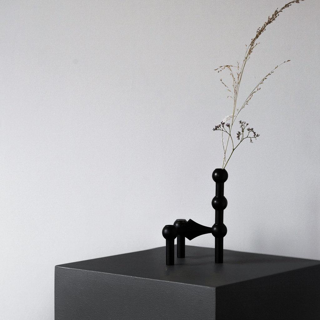 STOFF Nagel STOFF Nagel vase 10 x 2,4 BLACK