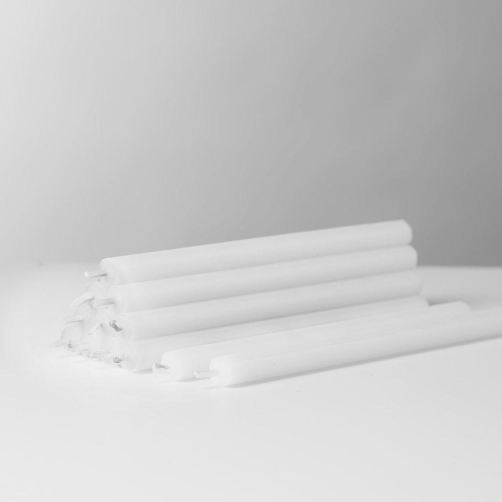 STOFF Nagel STOFF Nagel candles box w/12pcs WHITE