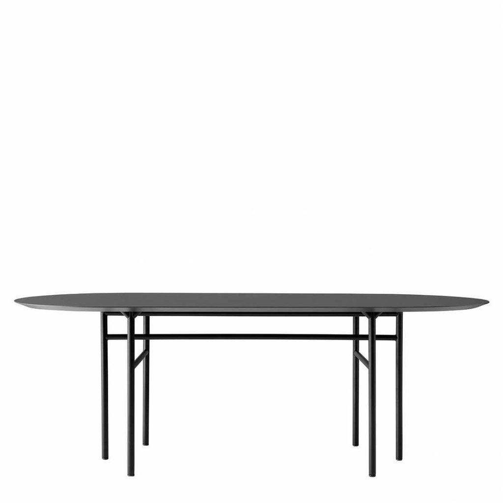 MENU Snaregade DT, Oval 210cm, Black/Black