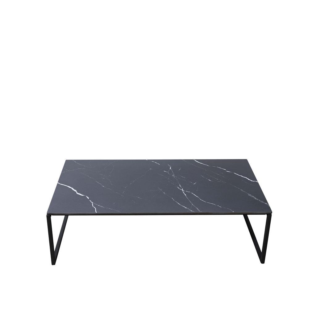Unit14 Bente salontafel keramiek Nero Marquina 120 x 70