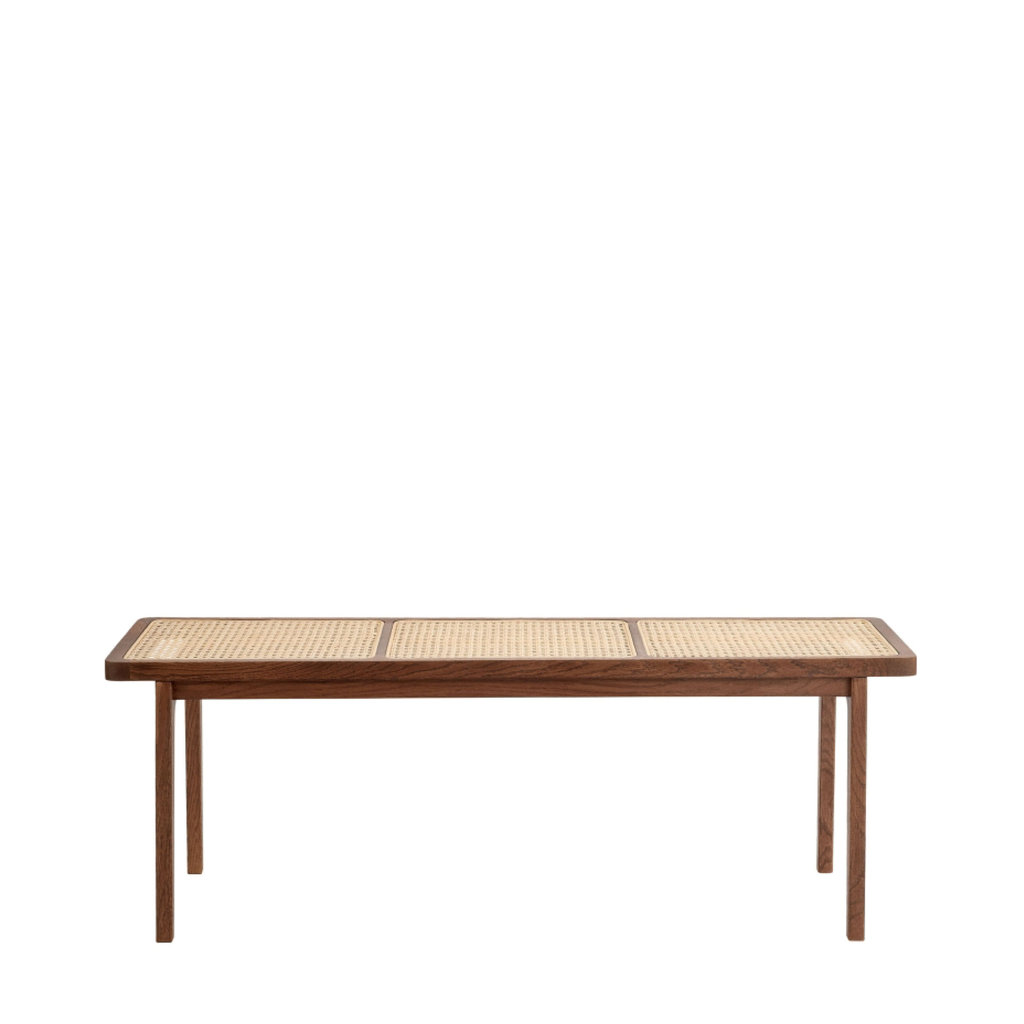 Norr11 Le Roi Bench - Dark Stained