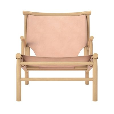 Norr11 Samurai Chair - Nature Leather