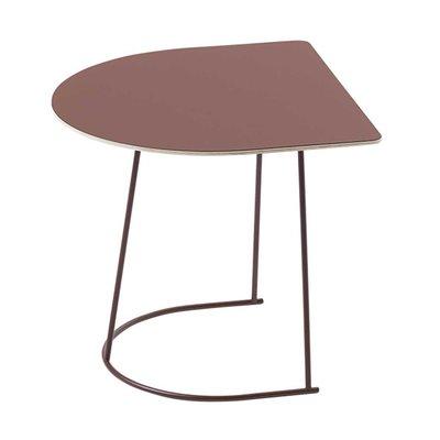 Muuto Airy coffee table Nano - Half - Frame & top - PLUM