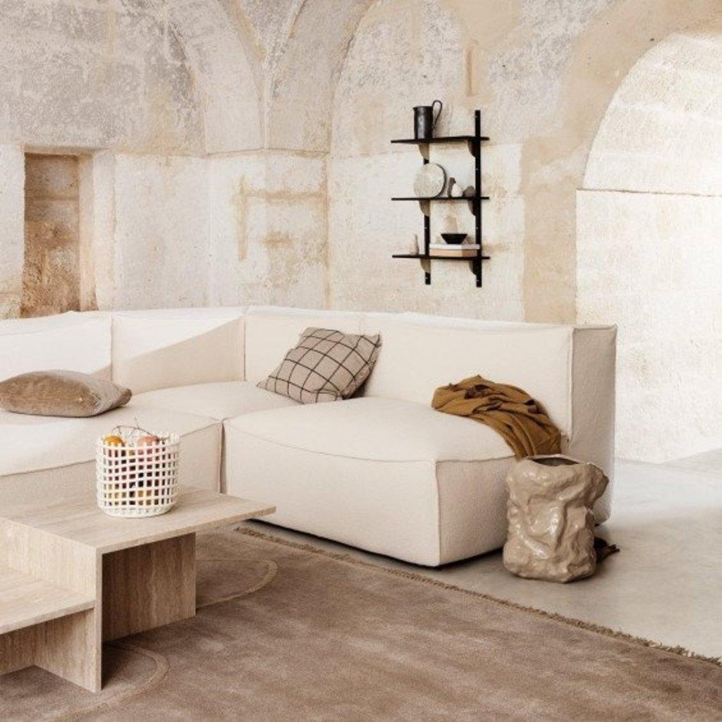 Ferm Living Ceramic Basket - Small - Off-white