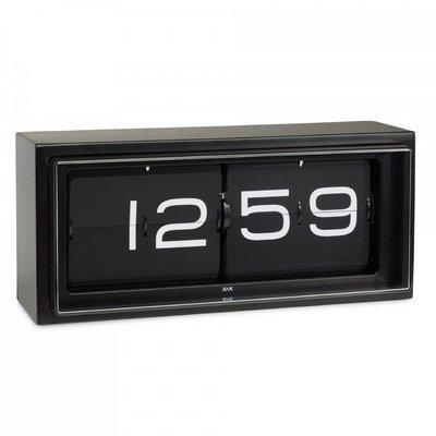 LEFF amsterdam Wall/desk clock brick  | black 24h black