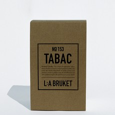 L:A Bruket Scented Candle Tabac 260g  - LIMITED EDITION
