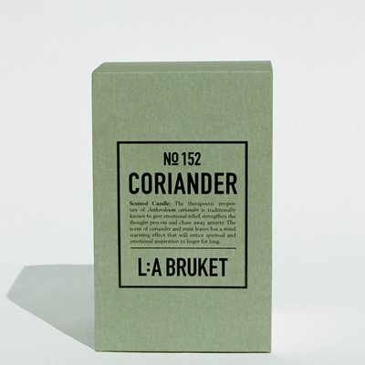 L:A Bruket Scented Candle Coriander 260g - LIMITED EDITION