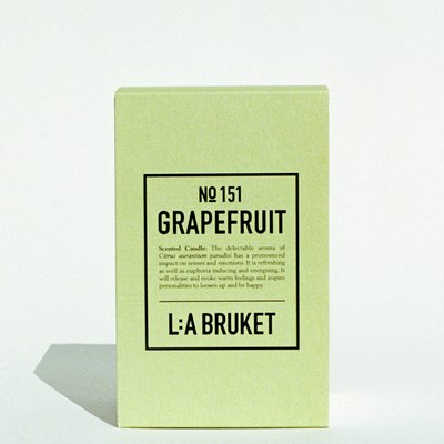 L:A Bruket Scented Candle Grapefruit 260g  - LIMITED EDITION