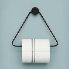 Ferm Living Black Toilet Paper Holder