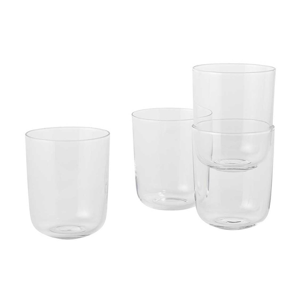 Muuto Corky - Drinking glasses - Tall - Clear (set of 4)