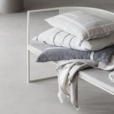 Kristina Dam Architecture Cushion - Cotton - Beige/Off White