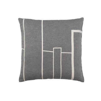 Kristina Dam Architecture Cushion - Cotton - Black Melange/Off White