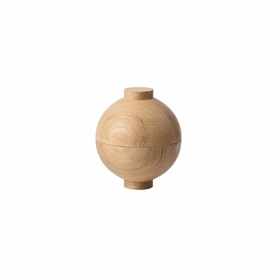 Kristina Dam Wooden Sphere - Solid Oak